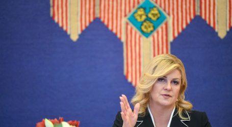 Predsjednica Grabar-Kitarović namjerava zatražiti Ured bivše predsjednice