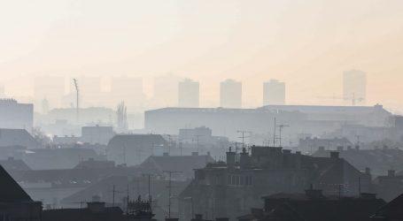 Kvaliteta zraka u Zagrebu je loša, policija objavila važne upute