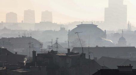 Kvaliteta zraka u Zagrebu ponovno loša