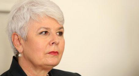 "Jadranka Kosor o debati: ""Tračerica, ne Tačerica, nego tračerica"""