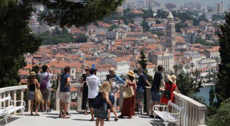 U Splitsko-dalmatinskoj županiji u 2019. pet posto turista više nego u 2018.
