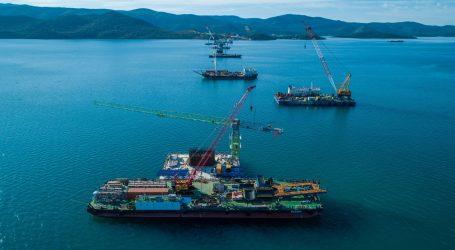 Kinezi obavili više od trećine posla na Pelješkom mostu