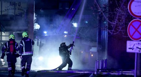 U velikom požaru u Zagrebu ozlijeđena jedna osoba, vatra se proširila na krovište