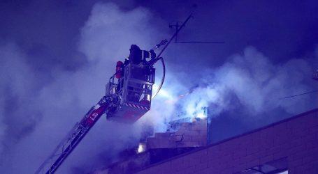 Veliki požar u Zagrebu: Izgorjeli stanovi, jedna osoba ozlijeđena, ljudi evakuirani
