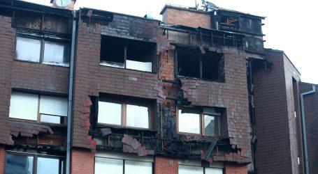 Evo kako jutros izgleda zgrada koja je sinoć gorjela u Zagrebu