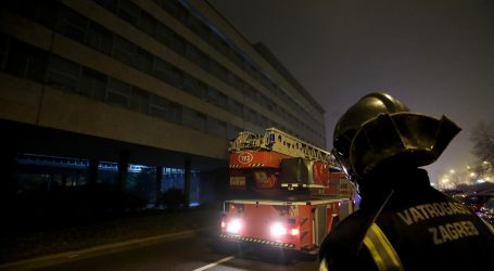 Izbio požar u zgradi Gradskog poglavarstva