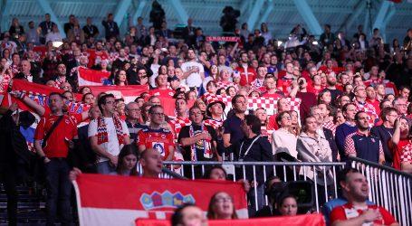 Hrvatsku bodri 4 tisuće navijača u borbi za finale