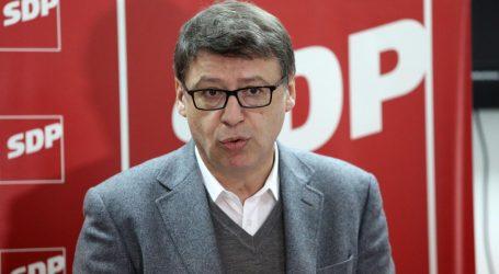 Jovanović pozvao sve da se priključe SDP-ovoj antikorupcijskoj politici