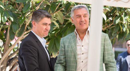 Đukanović čestitao Milanoviću