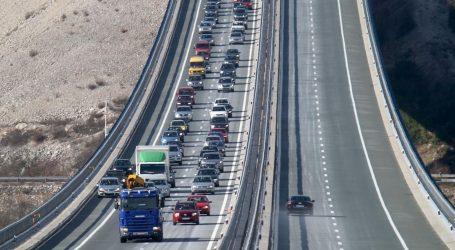 Pojačan promet na A2 i A3, moguća poledica