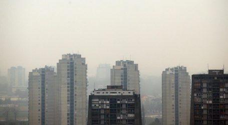 U dijelovima Zagreba zrak proglašen vrlo lošim, izdane i upute za građane
