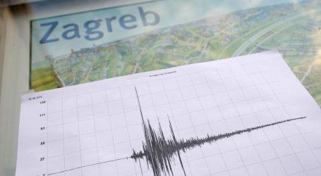 Zagreb zatresao potres jačine 3,7