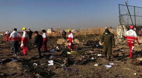 Ukrajinski zrakoplov sa 180 putnika srušio se u Iranu, nema preživjelih