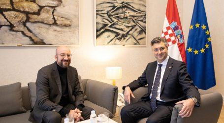 """Plenković: """"Ne želimo da ruta zapadnog Balkana i istočnog Mediterana postane problem za Hrvatsku"""""""