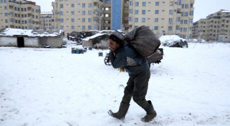Veliki hladni val pogodio Afganistan, najmanje 17 mrtvih
