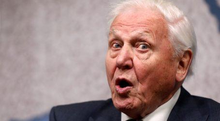 """Attenborough: """"Moramo žurno djelovati s obzirom na klimatsku krizu"""""""