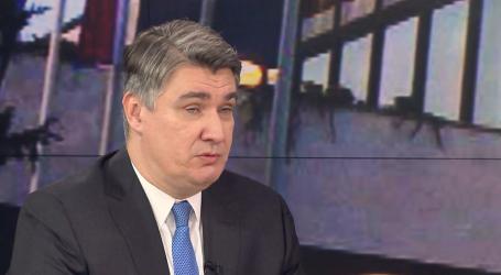 MILANOVIĆ 'Inauguracija će se održati u Uredu predsjednika'