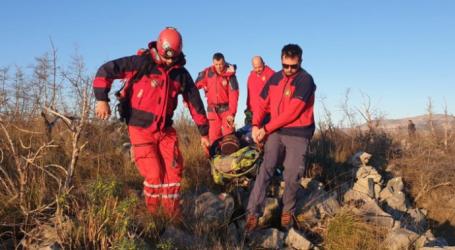 HGSS U AKCIJI: Ozlijeđen penjač u kanjonu Čikole