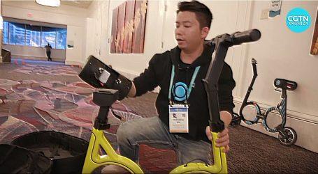 VIDEO: Najmanji sklopivi električni bicikl