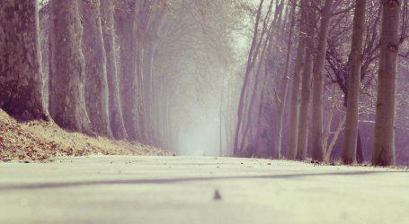 Vidljivost smanjena zbog magle, moguća je poledica