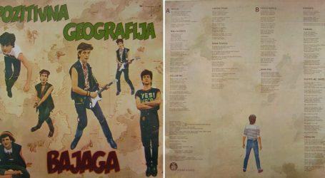 Na svom prvom albumu 'Pozitivna geografija' Bajaga je samo pjevao