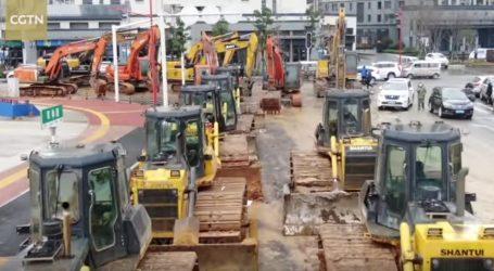 VIDEO: Gradi se druga poljska bolnica u Wuhanu