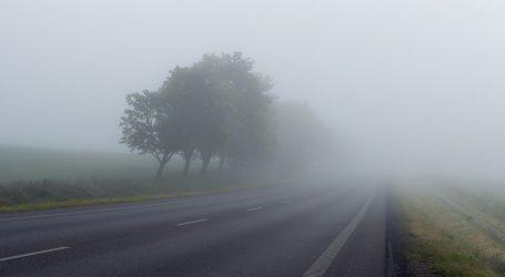 Magla smanjuje vidljivost u unutrašnjosti, moguća je poledica