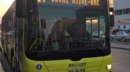 """Zbog pretrpljenoga šoka napadnutoga vozača """"Prometa"""" zamijenio kolega"""
