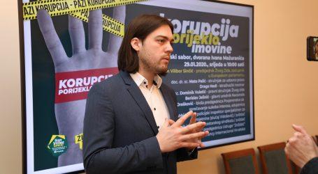 """Sinčić: """"Hrvatskoj je nužan Zakon o ispitivanju porijekla imovine"""""""