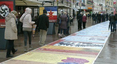 HVIDR-a osudila postavljanje zastave bivše SFRJ na plakatima u Rijeci