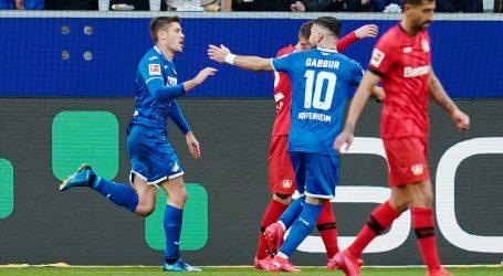 Gol i asistencija Kramarića u porazu Hoffenheima