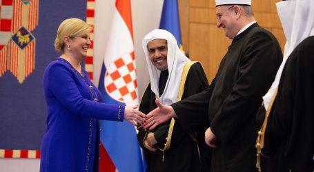 Generalni tajnik Lige muslimanskog bratstva na sastanku s predsjednicom nahvalio Hrvatsku