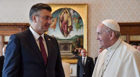 Plenković obnovio poziv Papi da posjeti Hrvatsku
