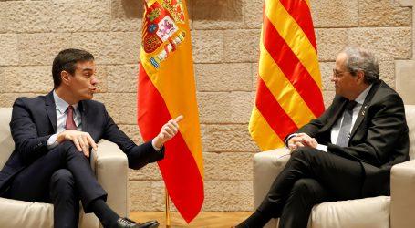 Španjolski premijer i katalonski predsjednik razgovarali o planu pregovora