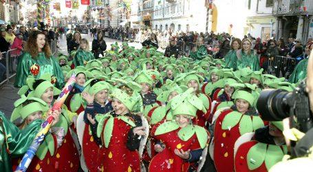 U Rijeci velika međunarodna karnevalska povorka s više od 11.000 maškara