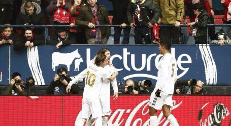 Real Madrid u gostima pobijedio Osasunu