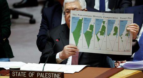 """Abas u Vijeću sigurnosti: """"Odbijamo izraelsko-američki plan"""""""