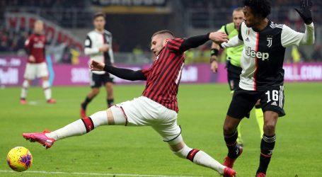 TALIJANSKI KUP Milan – Juventus 1-1, pogodak Rebića