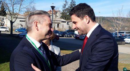 """BERNARDIĆ U PAZINU: """"Postoji veliki potencijal za suradnju između SDP-a i IDS-a"""""""
