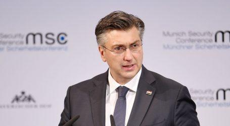 """Plenković: """"RH će svim sredstvima pomagati u zaštiti vanjske granice EU"""""""