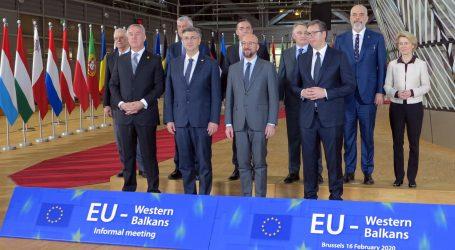 Čelnici EU okupili se na neformalnoj radnoj večeri s čelnicima zemalja zapadnog Balkana