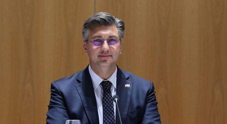 """Plenković: """"Jedan od najvećih uspjeha kriznog upravljanja ove Vlade velikim gospodarskim subjektima"""""""