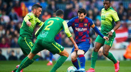 Četiri gola Messija za pobjedu Barcelone