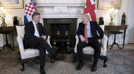 SASTANAK U LONDONU: Plenković i Johsnon žele jačati odnose Hrvatske i Velike Britanije