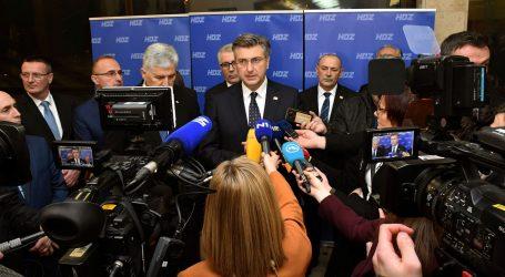 """Plenković: """"Napadi na HDZ dolaze i s lijeva i s desna"""""""
