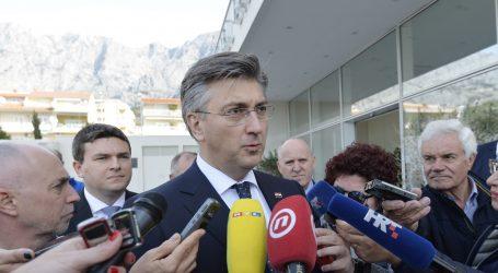 """Plenković: """"Nema baš ničeg lijevog u politici HDZ-a ni ove Vlade"""""""
