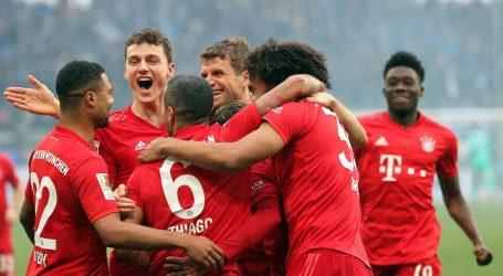 Bayern zabio 6 golova u utakmici na rubu prekida