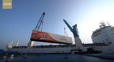 VIDEO: Raketa Long March 5B stigla do lansirnog centra