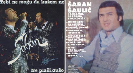 """Prije godinu dana Šaban Šaulić pokopan je uz svoj legendarni hit """"Ne plači dušo"""""""