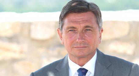 Pahor bi danas mogao Janeza Janšu predložiti za mandatara